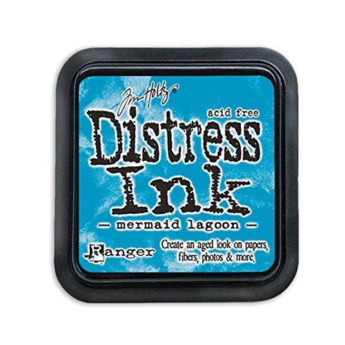 Ranger Tim Holtz Distress Ink Pad- March Color of the Month - Mermaid Lagoon
