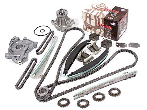Evergreen TK6054DWOP 99-04 Lincoln Navigator Blackwood 5.4 DOHC 32 Valve Timing Chain Kit Water Pump Oil Pump