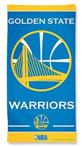 Golden State Warriors NBA 30 X 60 Inch Fiber Beach Towel by McArthur