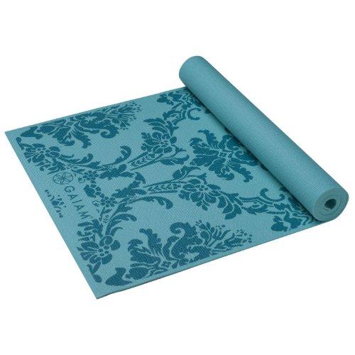 ★Lowest Price★Gaiam Print Yoga Mat, Watercress, 3mm Free