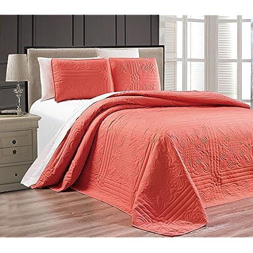 Coral Color Bedding Amazon Com