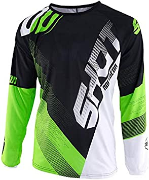 Shot Black Neon Green 2019 Ultimate Mx Jersey (Xxl, Green ...