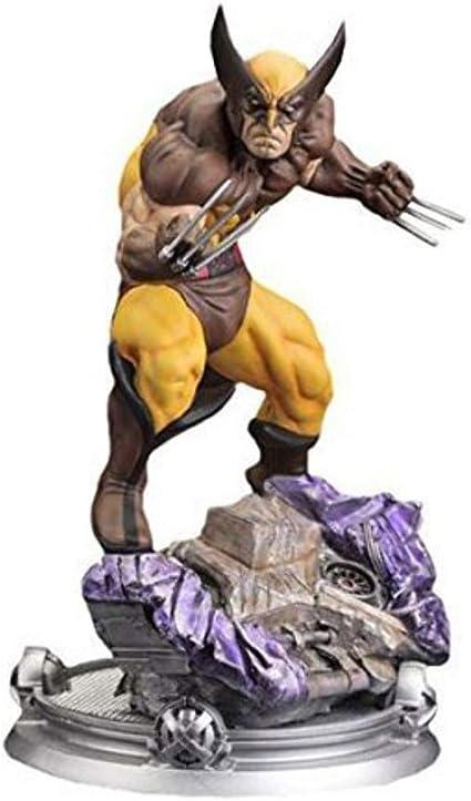 Nouveau Kotobukiya X-Men Wolverine Brown Costume Danger Room Session Fine Art Statue