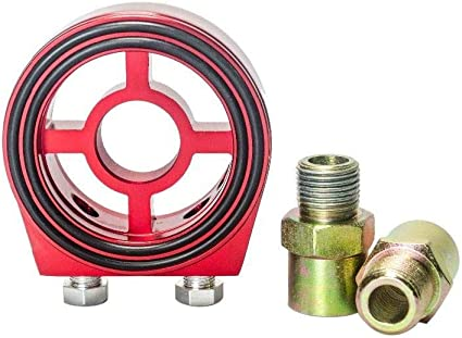 P2M Direct Type Oil Filter Oil Cooler Block Adapter Kit M20 X 1.50 3//4-16 UNF