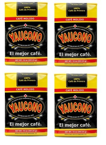 Cafe Yaucono Original Ground Coffee 4 bags