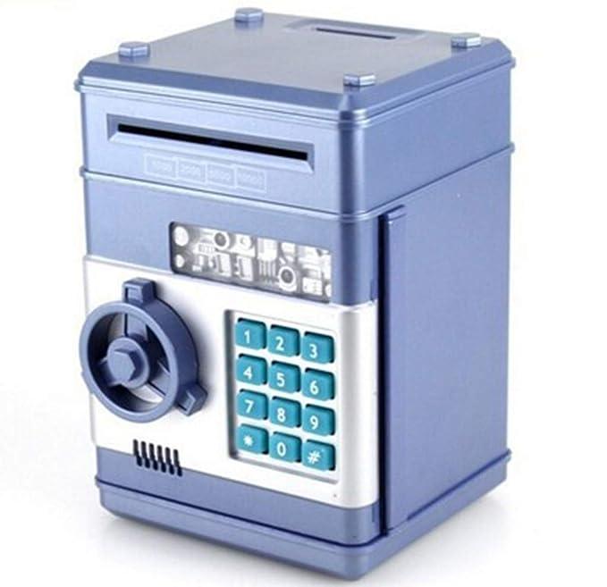 Rifuli® - Hucha electrónica con contraseña ATM para Monedas de ...