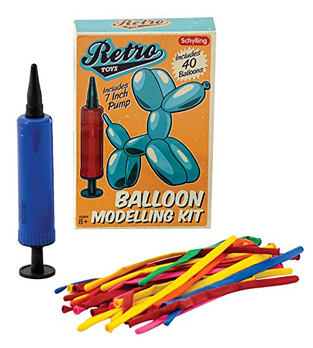 Schylling Retro Balloon Modeling Kit -