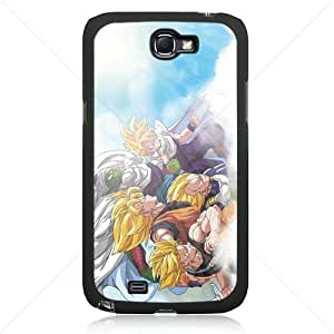 Dragon Ball Manga Comic Slim SON GOKU Samsung Galaxy Note 2 II N7100 TPU Soft Black or White case (Black)
