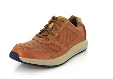 Clarks Men's Sirtis Mix Tan Leather Shoe