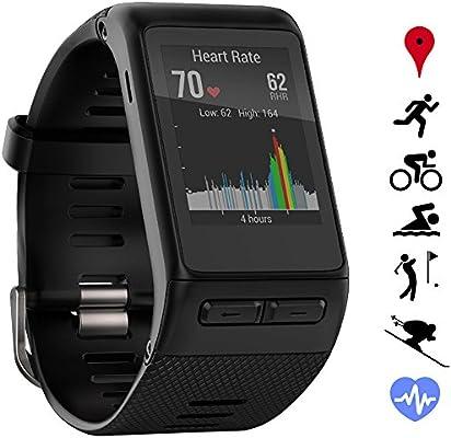 Garmin Montre connectée GPS vivoactive HR (010-01605-03) - Coupe Normale - Noir - Certifié reconditionné