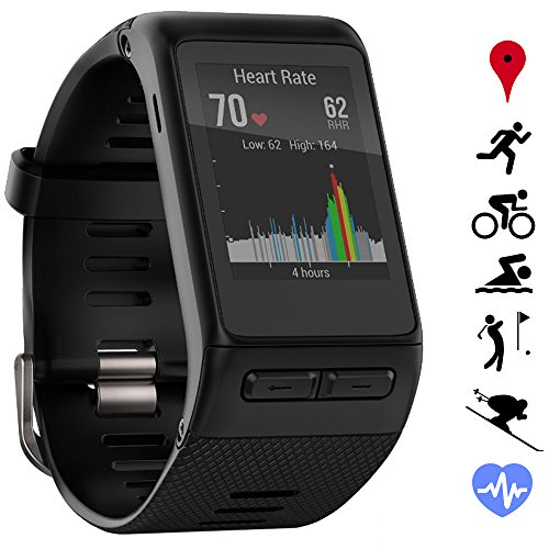 Garmin vivoactive HR GPS Smartwatch (010-01605-03) - Regular Fit -...