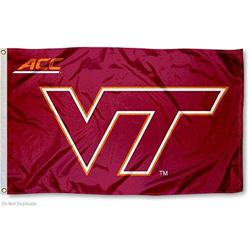 Virginia Tech Hokies ACC 3x5 Flag