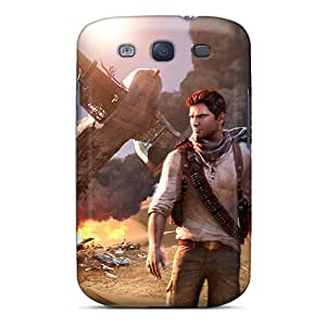 Awesome Case Cover/galaxy S3 Defender Case Cover(uncharted 3)