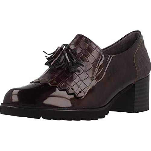 Mocasines para Mujer, Color marrón, Marca PITILLOS, Modelo Mocasines para Mujer PITILLOS Coco Marrón: Amazon.es: Zapatos y complementos
