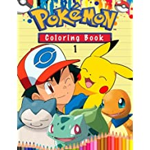 Pokemon Coloring Book: Amazing Pokemon Math, Dot to Dot and How to Draw Pokemon Pages. 4 in 1. 60 Illustrations.
