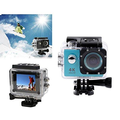 1080p H.264 30fps Full HD Waterproof Wi-Fi Sports Camera (Blue) - 4