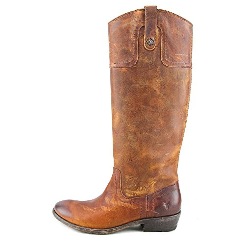 Carson Riding Frye Cognac Button Cuir Botte 6wdOxAqna
