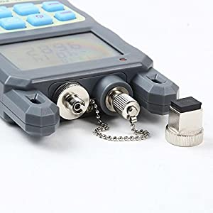 Professional All in one Handheld Optical Power Meter, Comes with Stronger 5mW Visual Fault Locator & Fiber Optic Light Cable Tester. -70 to +10dBm - English Instructions - Commercial Quality