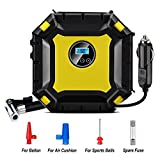 #4: MDee DC12V 100PSI Portable Air Compressor Pump ,Digital Auto Spare Tire Inflator with Gauge, Tire Inflator for Car, Bicycle, Bike, Motorcycle, RV, SUV, ATV, Truck, Basketball, Inflatable Mattress