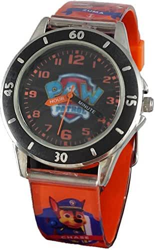 Paw Patrol Kid's Time Teacher Stainless Steel Case Analog Watch