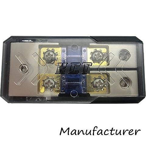 IN-LINE MINI ANL FUSE HOLDER 2x0/2GA-3x0/2GA WITH FUSE DISTRIBUTION BLOCK STEREO/AUDIO/CAR (Car Audio Digital Fuse)