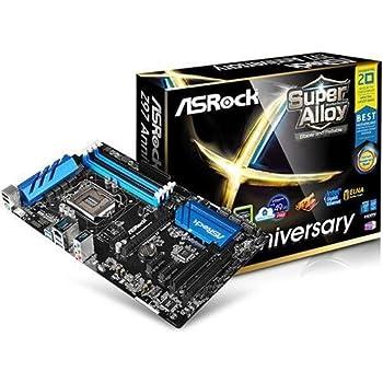 ASRock Z97 Anniversary LGA 1150 Intel Z97 HDMI SATA 6Gb/s USB 3.0 ATX Intel Motherboard