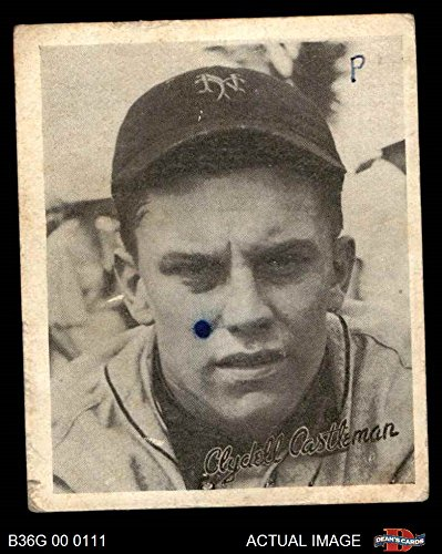 1936 Goudey Clyde Castleman New York Giants (Baseball Card) Dean's Cards 2 - GOOD Giants