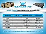 Garage Fit Sandbags for Fitness with Handles
