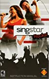 Singstar Rocks PS2 Instruction Booklet (Sony Playstation 2 Manual Only) (Sony Playstation 2 Manual)