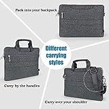 EKOOS 14-15 Inch Laptop Shoulder Bag Notebook Slim