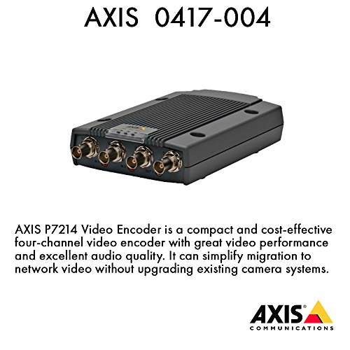 AXIS P7214 Video Encoder - video server - 4 channels (0417-004) -
