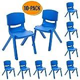 ECR4Kids 12 inch Plastic Stackable Classroom
