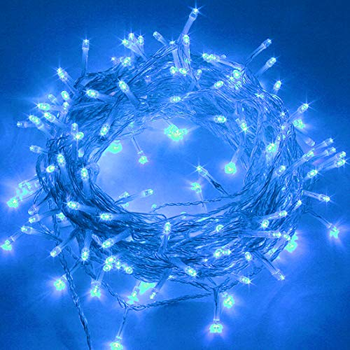 Twinkle Star 66FT 200 LED Indoor Fairy String Lights, Plug in String Light 8 Modes Waterproof for Outdoor Christmas…