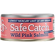 Safe Catch Wild Pink Salmon, 6 pack (5oz cans)