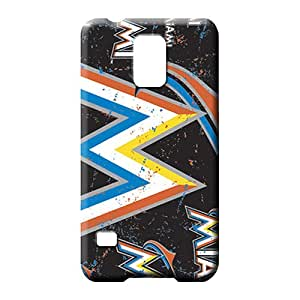 samsung galaxy s5 Collectibles Snap-on Skin Cases Covers For phone cell phone case miami marlins mlb baseball