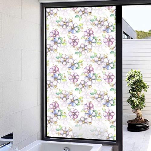 - MOSU 3D Window Film, Decorative Film No Glue Static Cling Glass Film Heat Control Reuse Window Sticker Living Room Bathroom Frosted Window film-45Cm58Cm(027)-45x58Cm(18x23Inch)