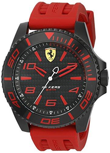 Ferrari Men 0830308 XX KERS Analog Display Japanese Quartz Red Watch