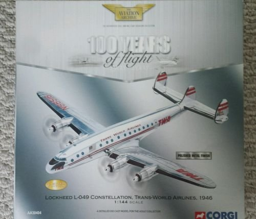 Lockheed L-049 Constellation TWA Flugzeug Dragon 1:400 Modellflugzeug 55669