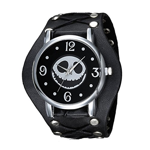 Jack Skellington Leather Watch