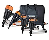 Freeman P4FRFNCB Pneumatic Framing & Finishing Combo Kit with Canvas Bag (4Piece)...