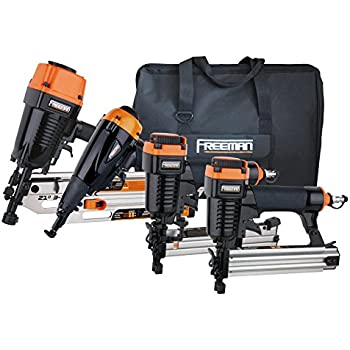 freeman p4frfncb framingfinishing combo kit with canvas bag 4 piece