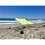 Beach Tent with Sand Anchor, Portable Canopy for Shade - Multiple Colors