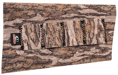 Neoprene Buttstock Shell Holders (Mossy Oak Neoprene Buttstock Shotgun Shell Holder, Mossy Oak Bottomland, One Size)