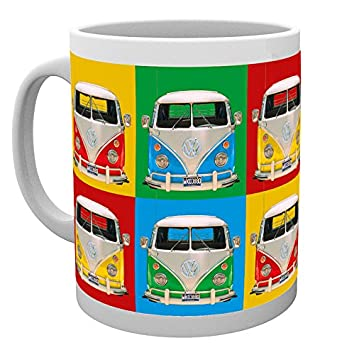amazon com volkswagen vw merchandise ceramic coffee mug cup