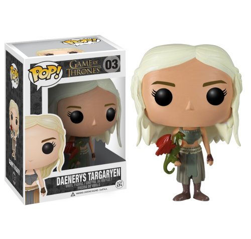 Funko POP Game of Thrones: Daenerys Targaryen Vinyl Figure (Colors May Vary)