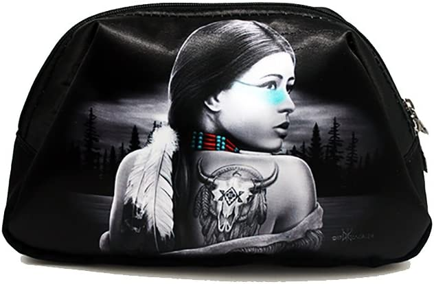 DGA Angels Day of the Dead Native American Dream Catcher//Princess Coin Travel Purse//Bag