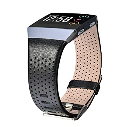 Amazon.com: Fitbit Ionic Band transpirable de piel ...