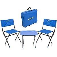 Kamp Sandalyesi Masa Seti Katlanır Çantalı Balıkçı Avcı Set HA111