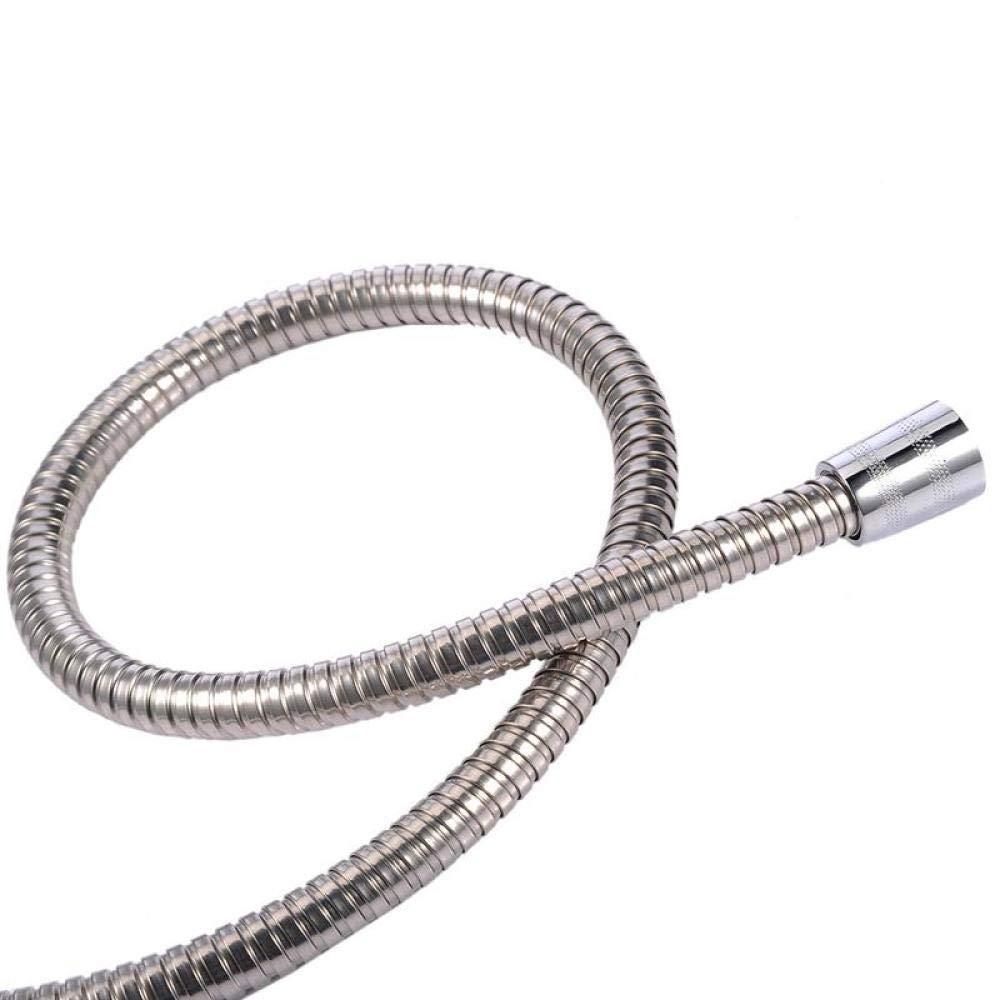 Manguera de ducha de acero inoxidable manguera de cabeza de calefacci/ón de ba/ño para accesorios de ba/ño-150cm