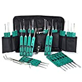 #3: Titanium Kit Set for Training/Practice with Canvas Zipper Storage Bag (32PCS&6 Lock Tension Wrench) by Paraponera